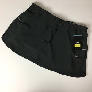 Nike Gray Skirt Pink Shorts Athletic Skort Size L